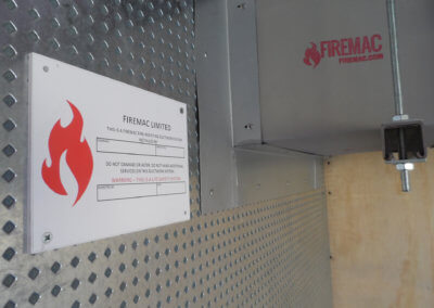 FM Fire Duct_System & FM_Blue Wall Site Inspection sign-off